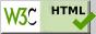 Valid HTML